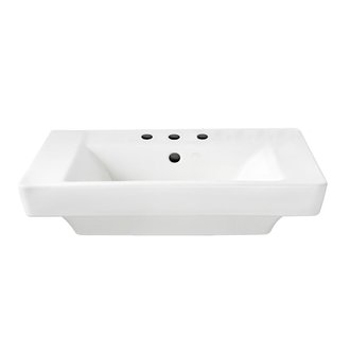 American Standard 0641.008.020 Boulevard Pedestal Basin with 8