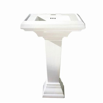 American Standard 0790.800 Vitreous China Pedestal Sink- 8