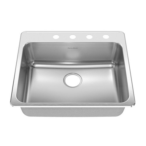 American Standard 15SB.252284.073 Drop In Single Bowl Kitchen Sink with 8