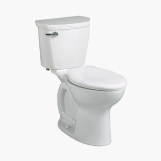 American Standard 215AA.104 Cadet Pro Two-Piece Elongated Toilet - White