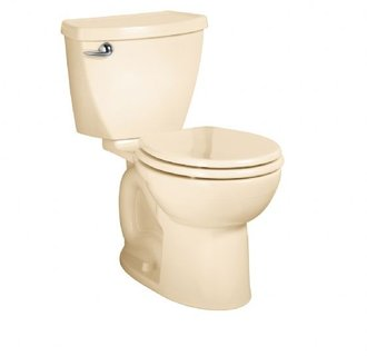 American Standard 2384.014 Cadet Two-Piece Round Toilet - Bone