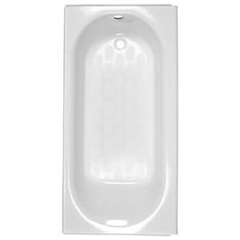 american standard princeton integral drain bath white