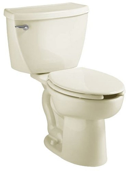 American Standard 2467.100 FloWise Two-Piece Elongated Toilet - Bone