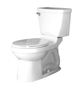 American Standard 2586.000ST Champion 4 Right Height Elongated Toilet- White
