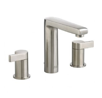 American Standard 2590.801 Studio Double Handle Widespread Lavatory Faucet - Satin Nickel