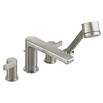 American Standard 2590.901 Studio Double Handle Roman Tub Filler Faucet - Satin Nickel