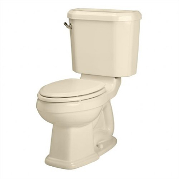 American Standard 2733.014 Townsend Champion 4 Right Height Two-Piece Elongated Toilet - Bone