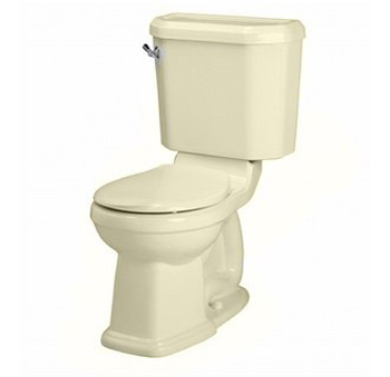 American Standard 2735.014 Townsend Two-Piece Round Toilet - Bone