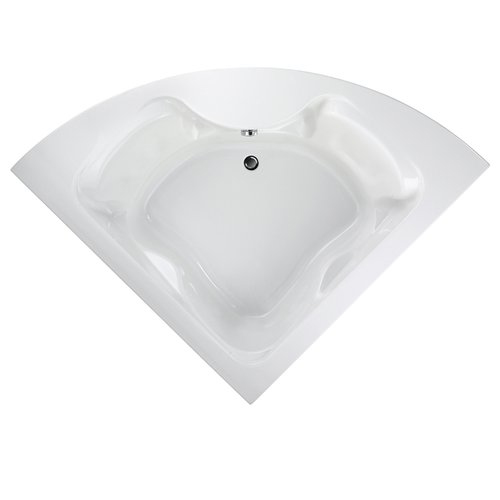American Standard 2775.002 Corner Drop In Bathtub - White