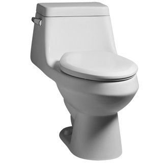 American Standard 2862.056 Fairfield One-Piece Elongated Toilet - White