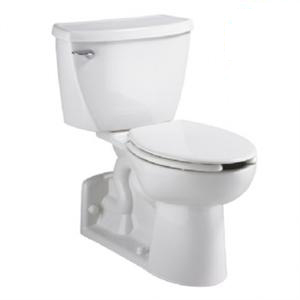 American Standard 2876.100.020 Yorkville Flowise Pressure Assisted Elongated Toilet - White