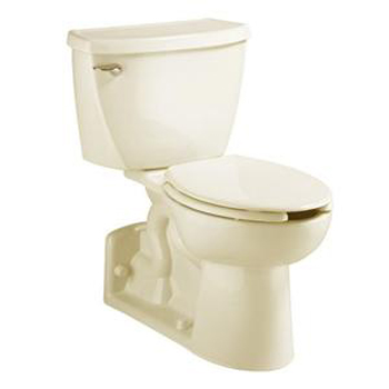 American Standard 2876.100.021 Yorkville Flowise Pressure Assisted Elongated Toilet - Bone