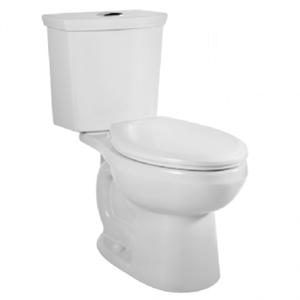 American Standard 2886.216.020 H2Option Siphonic Dual Flush Right Height Elongated Toilet - White