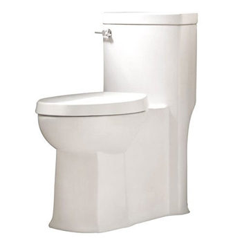 American Standard 2891.128 Boulevard One-Piece Elongated Toilet - White