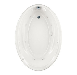 American Standard 2903.018WC Savona 5 Foot Drop In Jetted Tub - White