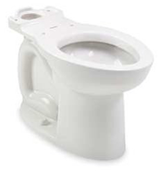 American Standard 3016.001.020 Cadet 3 Right Height Elongated Toilet Bowl Only - White