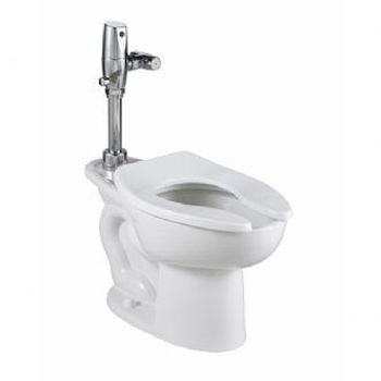 American Standard 3043.001.020 Madera FloWise Elongated Toilet Bowl, Top Spud - White