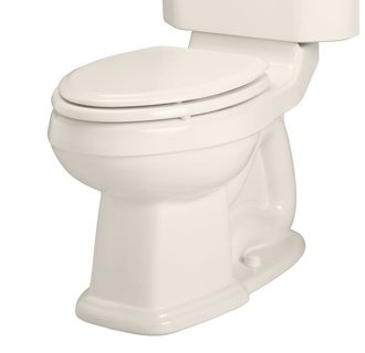 American Standard 3177.016.222 Townsend Champion 4 Elongated Right Height Toilet Bowl Only - Linen