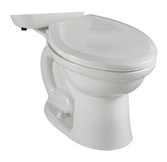 American Standard 3190.016.020 Colony Round Toilet Bowl Only - White
