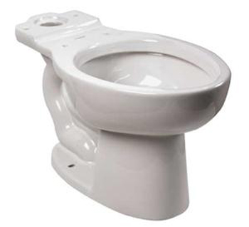 American Standard 3481.001.020 Cadet Pressure Assisted Elongated Toilet Bowl Only - White