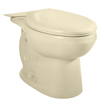 American Standard 3705.216.021 H2Option Dual Flush Right Height Elongated Toilet Bowl Only - Bone