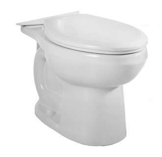 American Standard 3706.216.020 H2Option Dual Flush Elongated Toilet Bowl Only - White