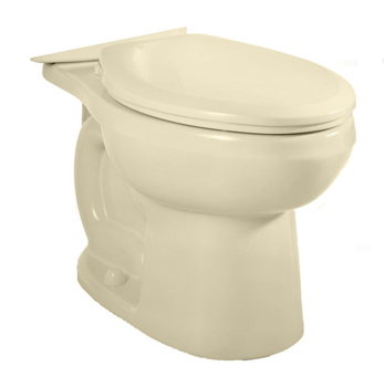 American Standard 3706.216.021 H2Option Dual Flush Elongated Toilet Bowl Only - Bone