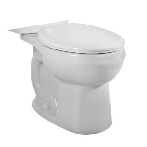 American Standard 3708.216.020 H2Option Siphonic Dual Flush Round Toilet Bowl Only - White