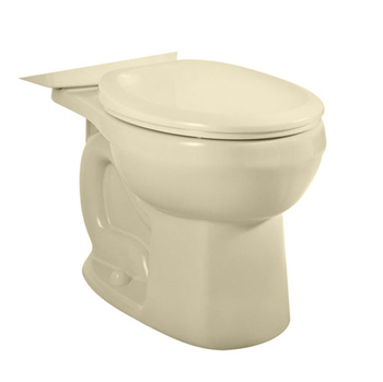 American Standard 3708.216.021 H2Option Siphonic Dual Flush Round Toilet Bowl Only - Bone