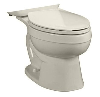 American Standard 3892.016.222 Titan Pro Right Height Elongated Toilet Bowl Only - Linen