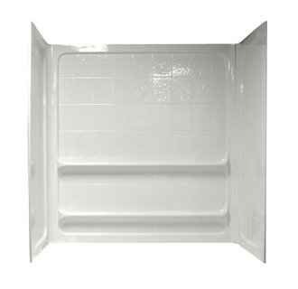 American Standard 6030Y1.BWT Tile Bath Wall Set 60