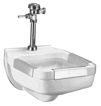American Standard 9512.999.020 Clinic Service Sink Wall-Mount - White
