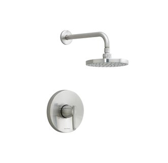 American Standard T010.501 Single Handle Shower Valve Trim - Stainless Steel