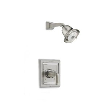 American Standard T555.527 Town Square Single Handle Shower Valve Trim Only - Satin Nickel
