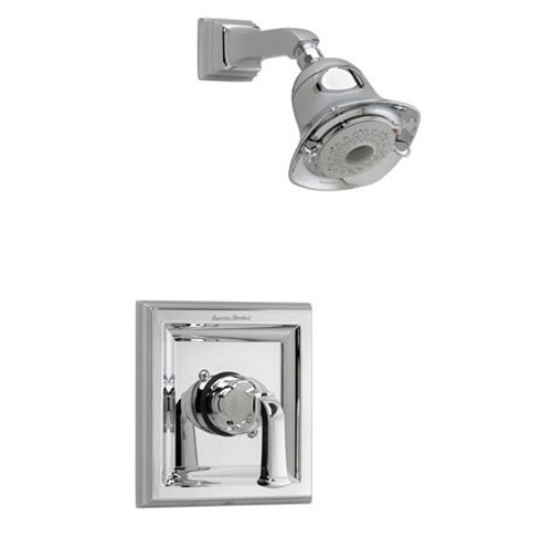 American Standard T555.527 Town Square Single Handle Shower Valve Trim Only - Oil Rubbed Bronze (Pictured in Polished Chrome)