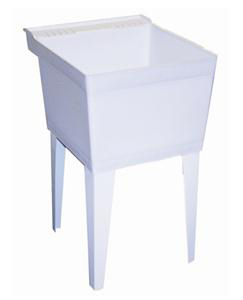 American Standard Fiat FL1100 Composite Acrylic Floor Mounted Laundry Tub - White