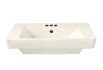 American Standard 0641.004.222 Boulevard Pedestal Basin with 4