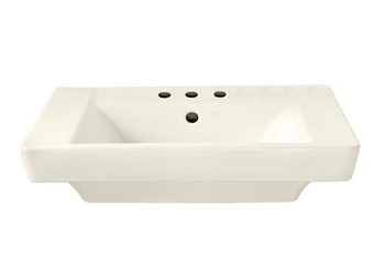 American Standard 0641.008.222 Boulevard Pedestal Basin with 8