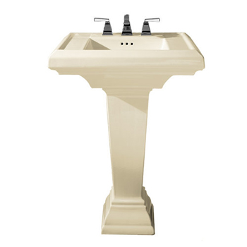 American Standard 0790.800 Town Square Collection Pedestal Sink - Linen