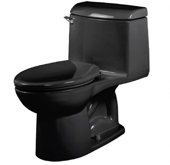 American Standard 2034.014 Champion 4 Right Height Elongated 1-Piece Toilet - Black