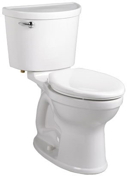 American Standard 211A.A104 Champion Pro Two-Piece Elongated Toilet - Bone (Pictured in White)