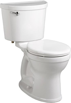 American Standard 211B.A104 Champion Pro Two-Piece Round Toilet - Bone (Pictured in White)