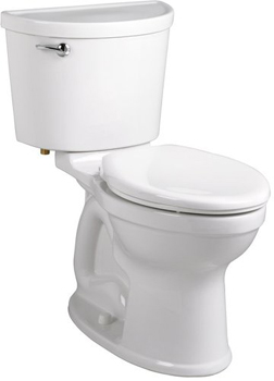 American Standard 211B.A105 Champion Pro Two-Piece Round Toilet - White