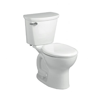 American Standard 215BA.104 Cadet Pro Two-Piece Round Toilet - White