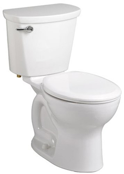 American Standard 215BB.104 Cadet Pro Two-Piece Round Toilet - White