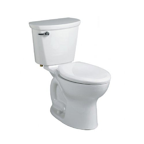 American Standard 215CA.104 Cadet Pro Two-Piece Elongated Toilet - White