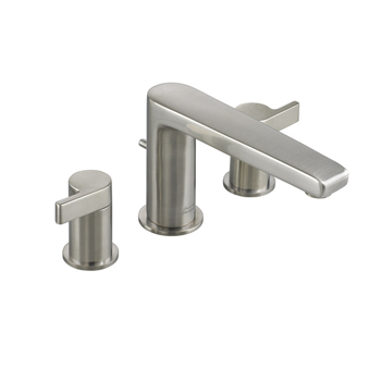 American Standard 2590.900 Studio Double Handle Roman Tub Filler Faucet - Satin Nickel