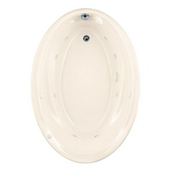 American Standard 2903.018WC Savona 5 Foot Drop In Jetted Tub - Linen