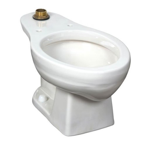 American Standard 3543.001US.020 Colorado Elongated Flush Valve Toilet Bowl, Top Spud - White