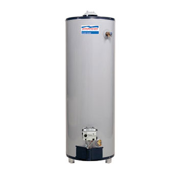 American Water Heater BFG62-50T40-3NOV 50 Gallon Residential Natural Gas Water Heater with Flame Guard Safety System